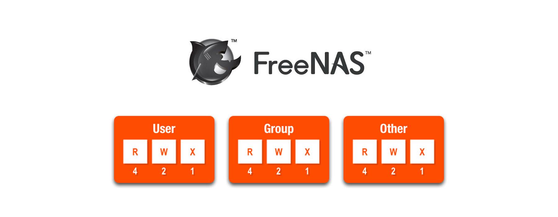 Creating permissions & users on FreeNAS